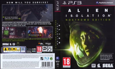 Alien Isolation, PS3