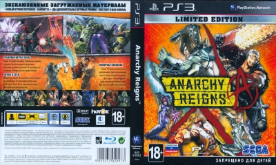 Anarchy Reigns, PS3