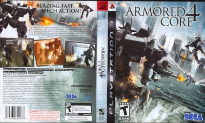 Armored Core 4, PS3