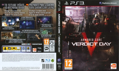Armored Core Verdict Day, PS3