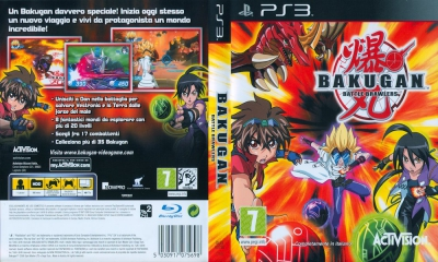 Bakugan Battle Brawlers, PS3