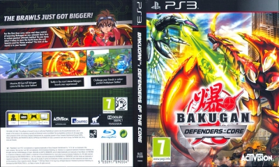 Bakugan Defenders of the Core, PS3