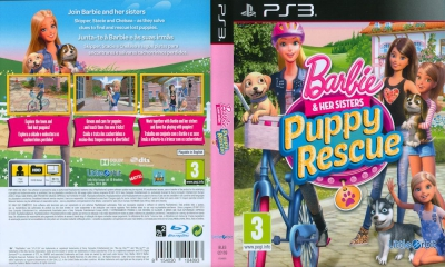 Barbie & Her Sisters Puppy Rescue, PS3