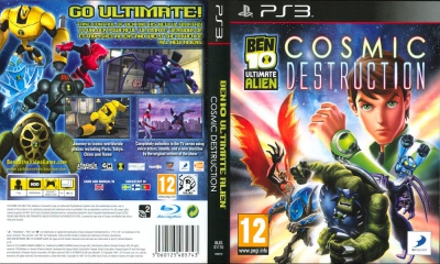 Ben 10 Ultimate Alien Cosmic Destruction, PS3