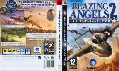 Blazing Angels 2 Secret Missions of WW II, PS3