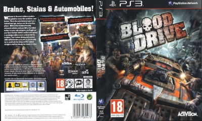Blood Drive, PS3